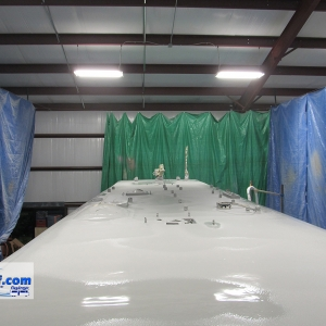 Coach-roof-with-solar-panel-brackets-rv-roof-FlexArmor